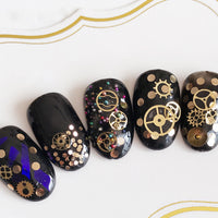 Steampunk 3D Nail Art