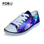Galaxy Canvas Shoes (Boys Sizes) - Little Geeklings