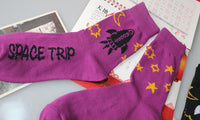 Space Trip Rocket Socks