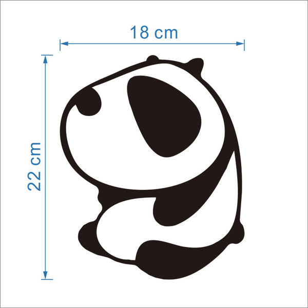Panda Potty Decal