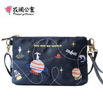 You Are My World Messenger Hand Bag