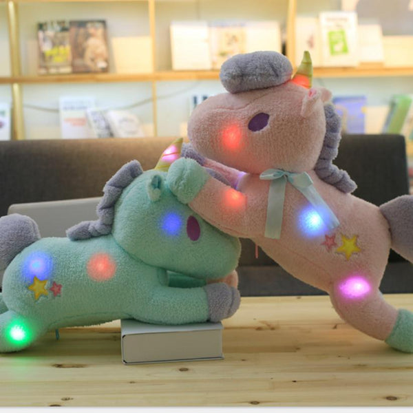 Large Light Up Unicorn Plush - Little Geeklings