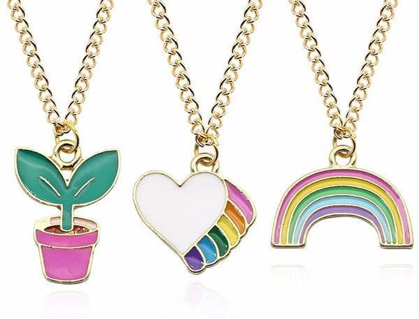 Bestie Kawaii Necklaces - Little Geeklings