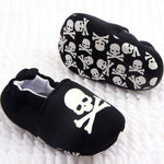 Crossbone Baby Shoes - Little Geeklings