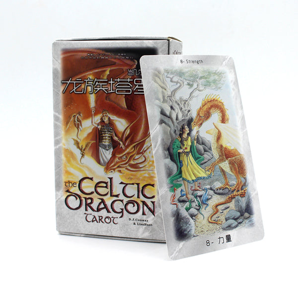 The Celtic Dragon Tarot Deck - Little Geeklings