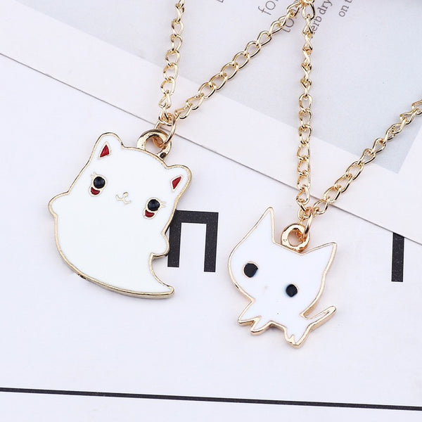 Bestie Kitty Necklaces - Little Geeklings