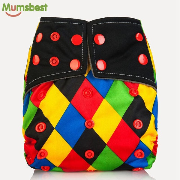 Jester Bright & Bold Adjustable Cloth Diaper - Little Geeklings