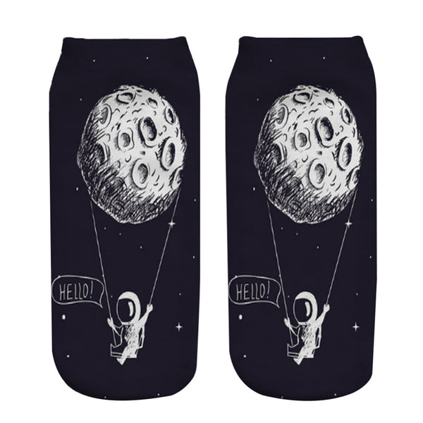 Lunar Swing Socks