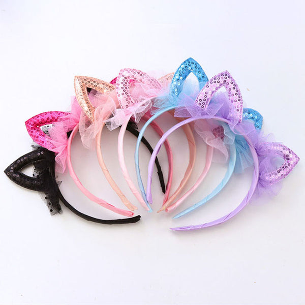 Lacey Kitty Headband - Little Geeklings
