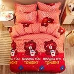 Missing You Tonight Bedding Set