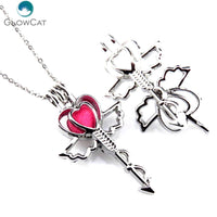 Cupid's Arrow Aromatherapy Necklace - Little Geeklings