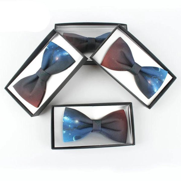 Fetching Galaxy Bow Tie - Little Geeklings