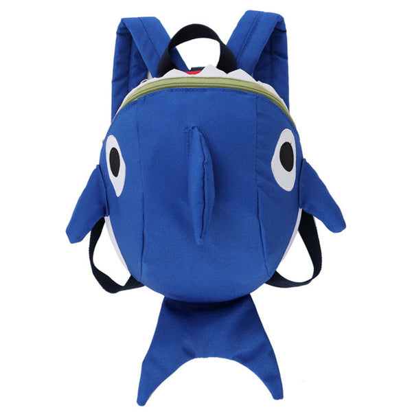3D Shark Attack Toddler Mini Backpack - Little Geeklings