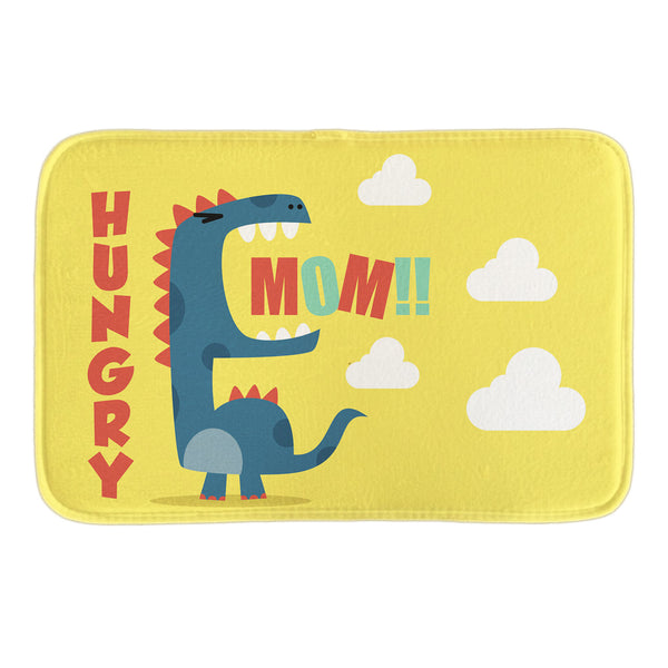 Hungry Dino Bath Mat - Little Geeklings
