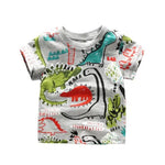 Sketchy Dinosaur Shirt (Young Boys Cut)