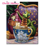 Tea Dragon Diamond Painting
