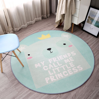 Call Me Little Princess Round Rug - Little Geeklings