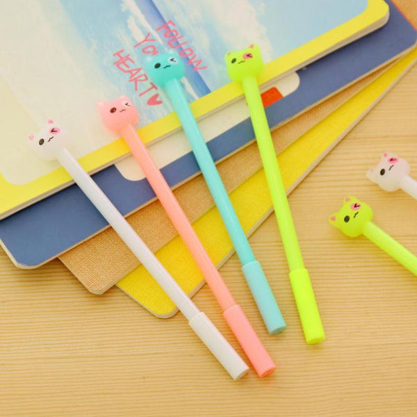 Erasable Kitty Gel Pens