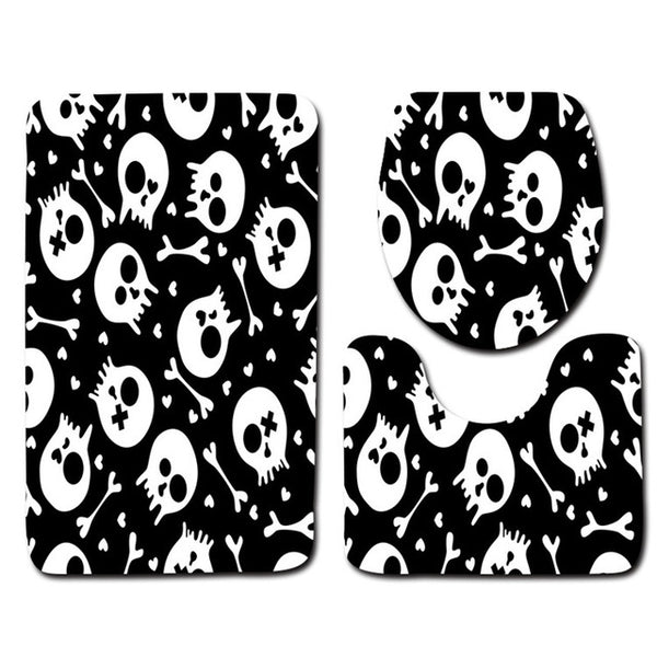 Almost Crossbones Bathroom Accessories Set - Little Geeklings