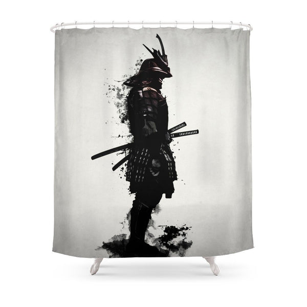 Armored Samurai Shower Curtain - Little Geeklings