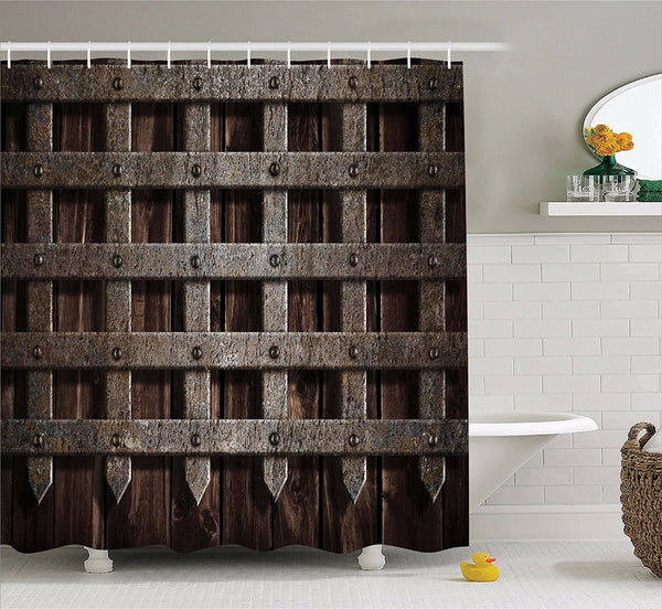 Portcullis Shower Curtain