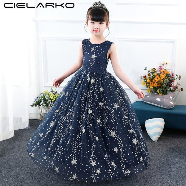 Starry Sequin Princess Dress