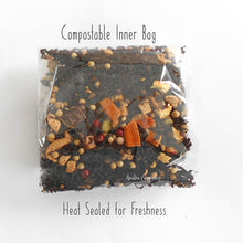Load image into Gallery viewer, Chocolate Organic Loose Leaf Tea CHOCOLATE THERAPY