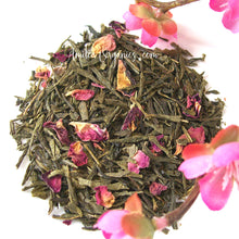 Load image into Gallery viewer, Cherry Blossom Tea, Small Batch Organic Green Tea, SHINJUKU SPRING