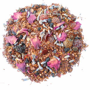 ELDERBERRY ROSE Organic Loose Leaf Rooibos Tea
