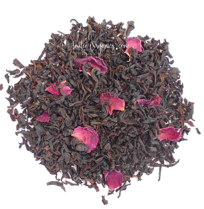 ENGLISH ROSE Organic Loose Leaf Tea