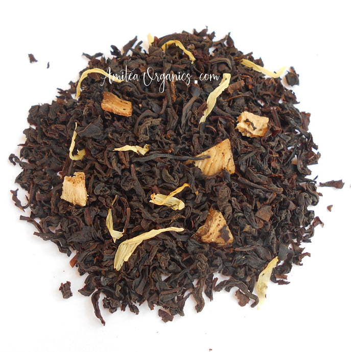 GOLDEN PINEAPPLE Organic Loose Leaf Black Tea