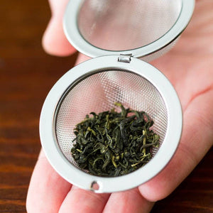 Tree of Life Tea Infuser | Fossilized Coral Stone