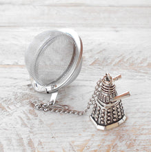 Load image into Gallery viewer, Dalek Tea Ball Infuser | Gift for the Whovian