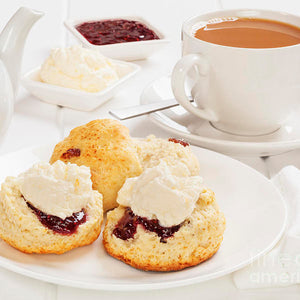 Cream Tea Organic Loose Leaf DEVONSHIRE CREAM