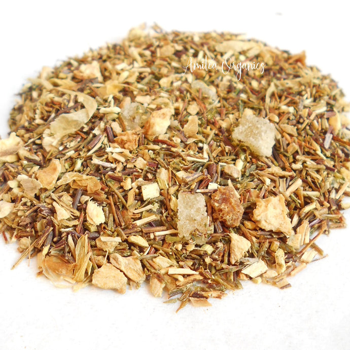 LEMON GINGER Organic Herbal Tea
