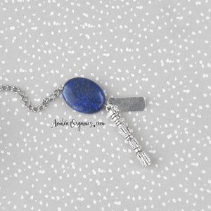 Doctor Who Tea Infuser with Lapis Lazuli Stone