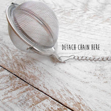 Load image into Gallery viewer, Book Charm Tea Infuser with Aventurine Stone