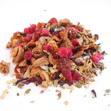 Load image into Gallery viewer, RASPBERRY CRUSH Organic Herbal Tea