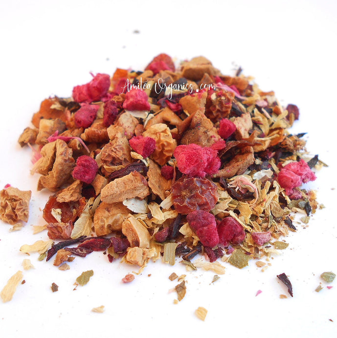 RASPBERRY CRUSH Organic Herbal Tea