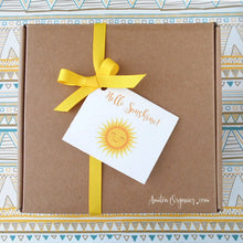 Load image into Gallery viewer, HELLO SUNSHINE Organic Tea Care Package | A Box of Sunshine Gift