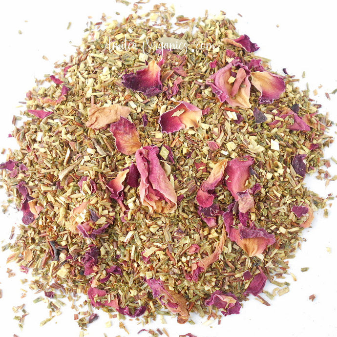 TURKISH DELIGHT Organic Rose Herbal Tea
