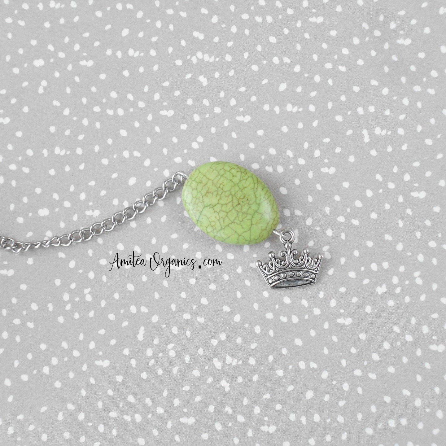 Crown Tea Infuser | Magnesite Stone | Gift for a Princess