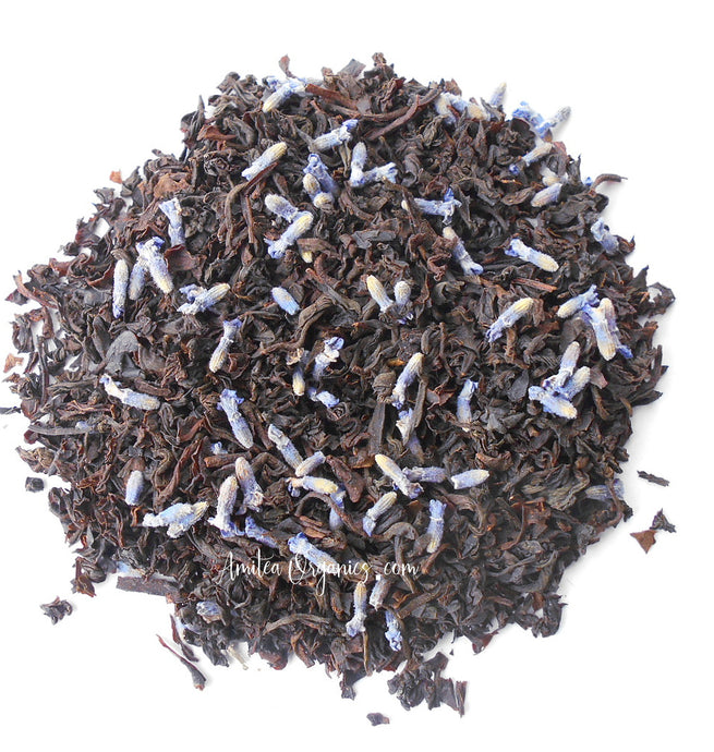 Lavender Earl Grey Organic Loose Leaf Tea FRENCH EARL GREY