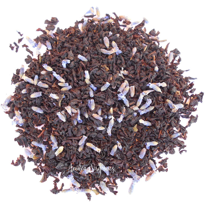 Lavender Vanilla Organic Loose Leaf Tea SUMMER IN PROVENCE