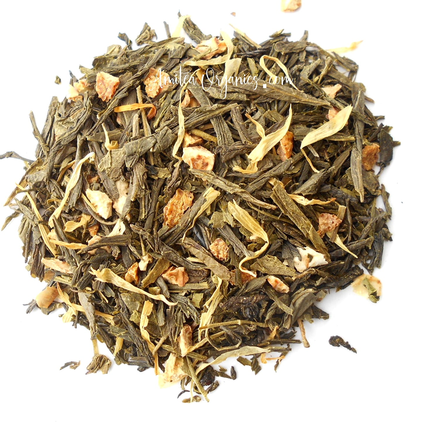 LEMON DROP Organic Loose Leaf Green Tea