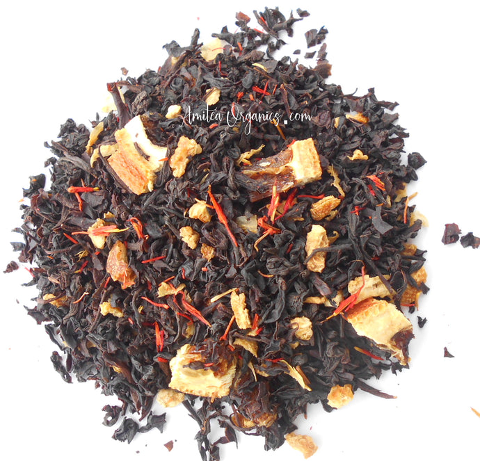 Orange Organic Loose Leaf Tea DARLING CLEMENTINE