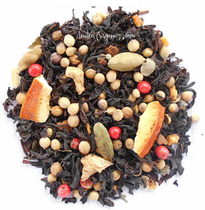 Orange Spice Organic Loose Leaf Tea JAFFA SPICE