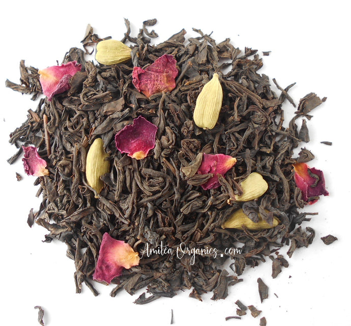 PERSIAN ROSE Organic Loose Leaf Tea