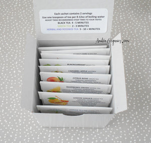 ACROSS THE MILES Tea Sampler Gift