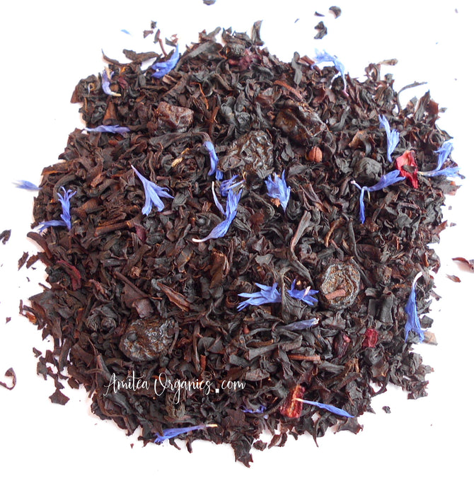 WILD BLUEBERRY Organic Loose Leaf Tea